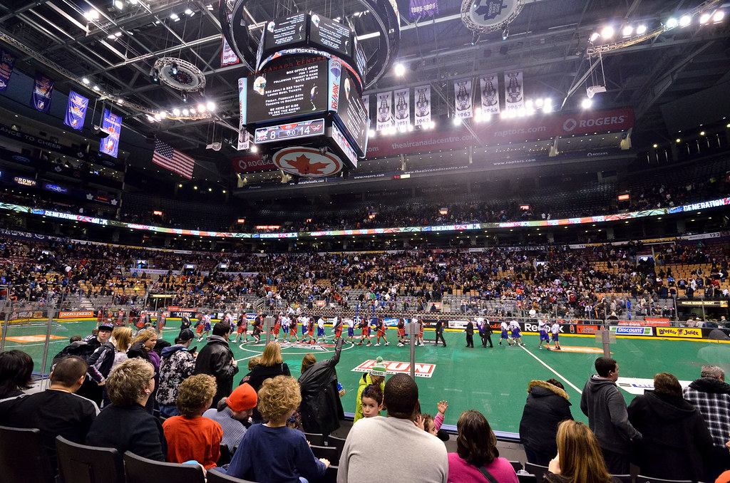 NLL @ Air Canada Centre: Toronto Rock vs Philadelphia Wing ...