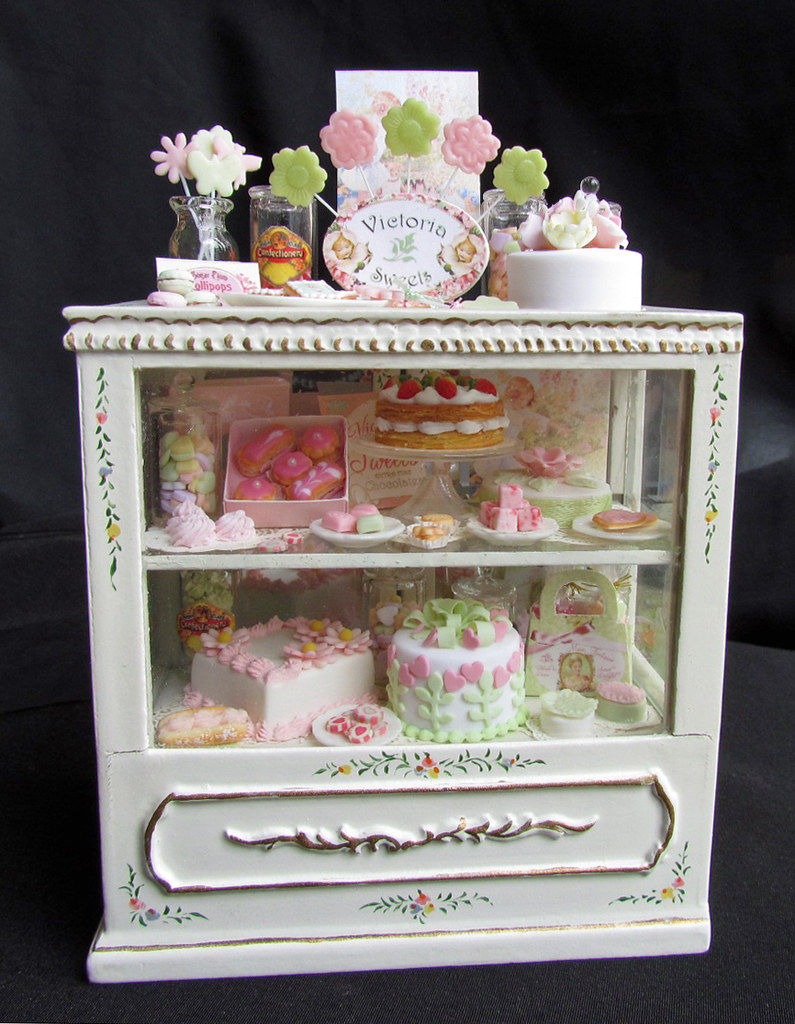 Victorian Style Dollhouse Bakery goddess of chocolate ...