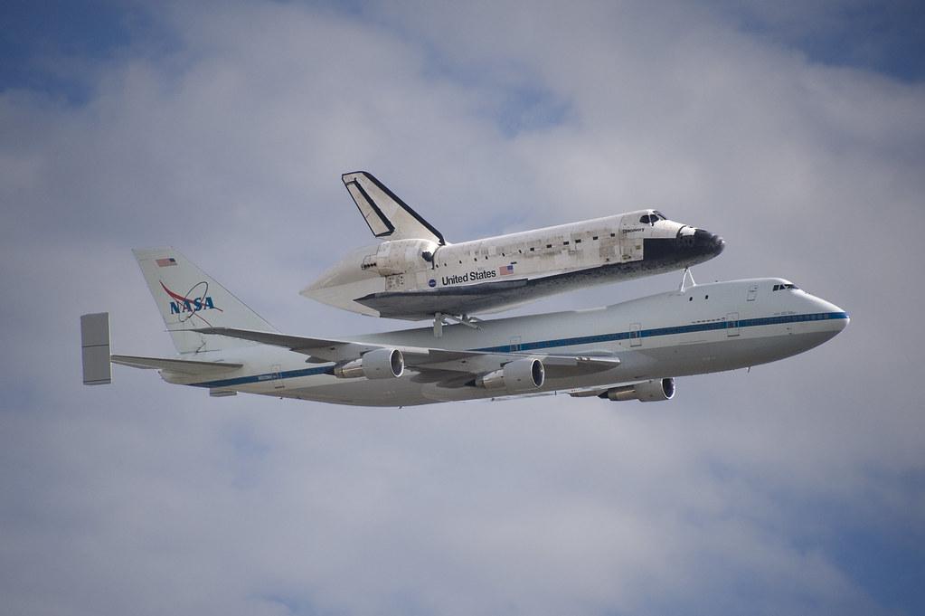 N905NA Boeing 747-123 NASA Space Shuttle Discovery Washing ...
