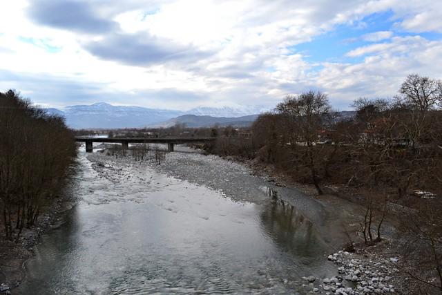 Φαράγγι του αώου ποταμού στην κόνιτσα
