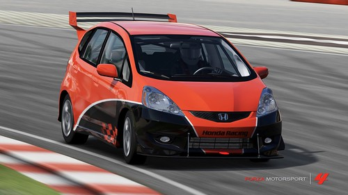 forza 4 honda fit 2009 honda fit sport tune is made by da flickr. Black Bedroom Furniture Sets. Home Design Ideas