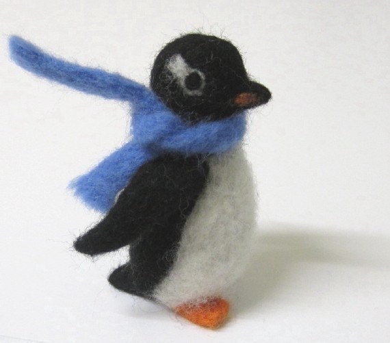 Needle felted penguin | A friend for the polar bear! | Flickr