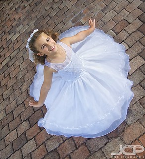 First Communion Celebration at the Don Cesar Daughter Spinning Dress | by Jason Collin