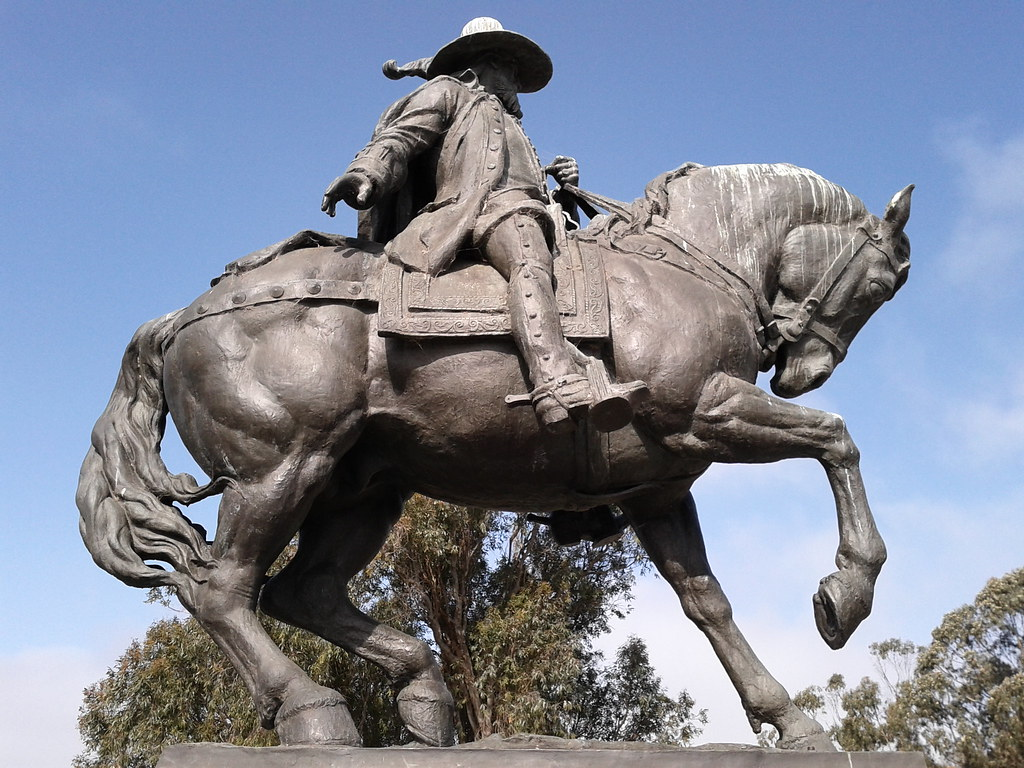 Captain Juan Bautista De Anza Founder Of The City Of San