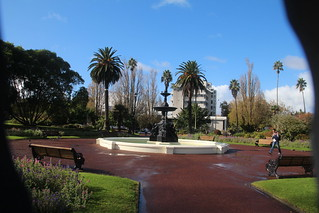 Fountain in Albert Park