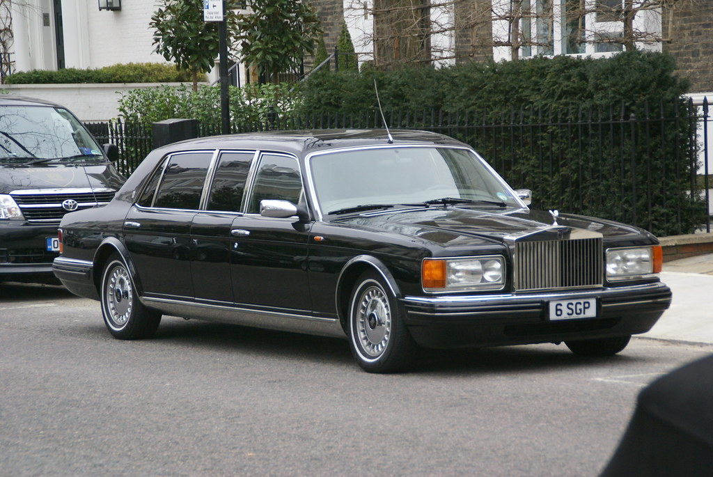 Rolls Royce Silver Spur Iii Touring Limousine Park Ward Flickr
