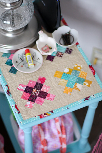 Granny Square Table Topper | by Jeni Baker