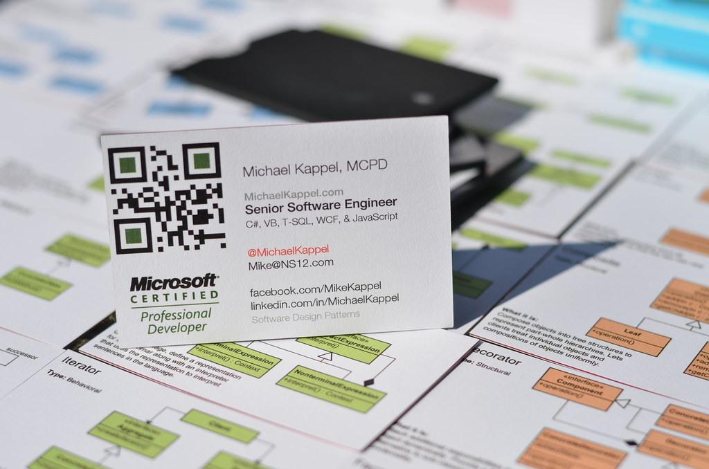 Professional business cards microsoft certified profession flickr reheart Gallery