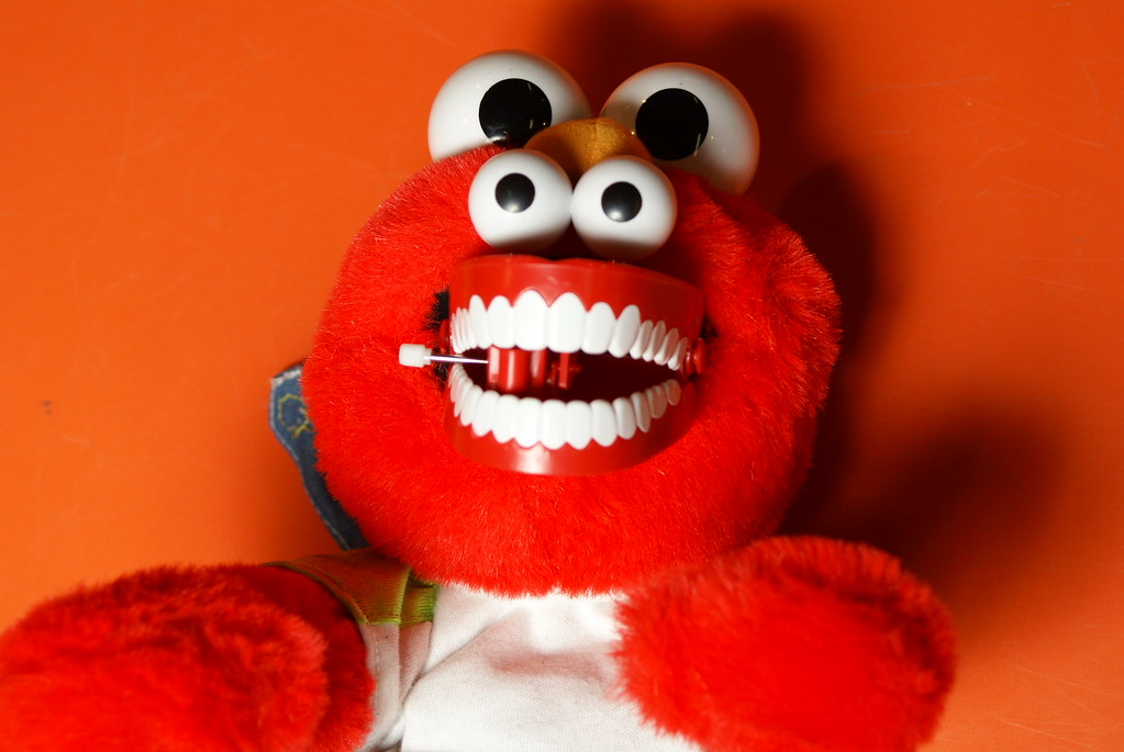 New To You >> Elmo's pharyngeal jaws. | You didn't know he had a set of th… | Flickr