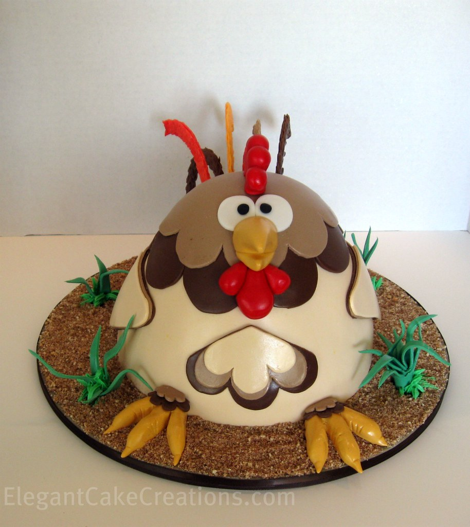 Rooster Grooms Cake No Time For An Easter Cake This Year