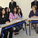 UN Women Executive Director Michelle Bachelet visits High School in Rabat, Morocco