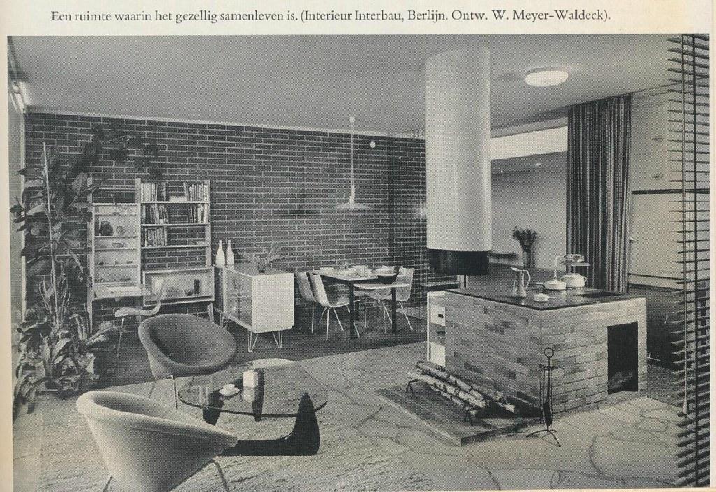 interieur 1960 berlijn janwillemsen flickr