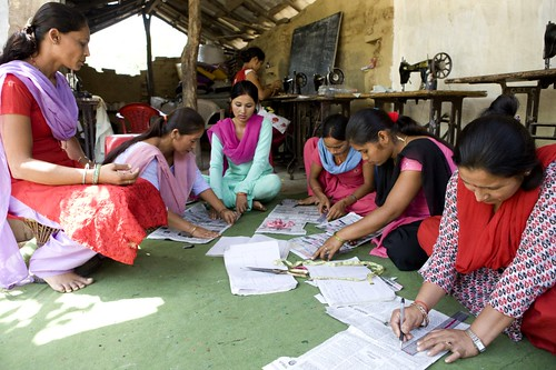 CEMBSUD Project - Namuna tailoring in Udharapur Banke | by UNDP Nepal
