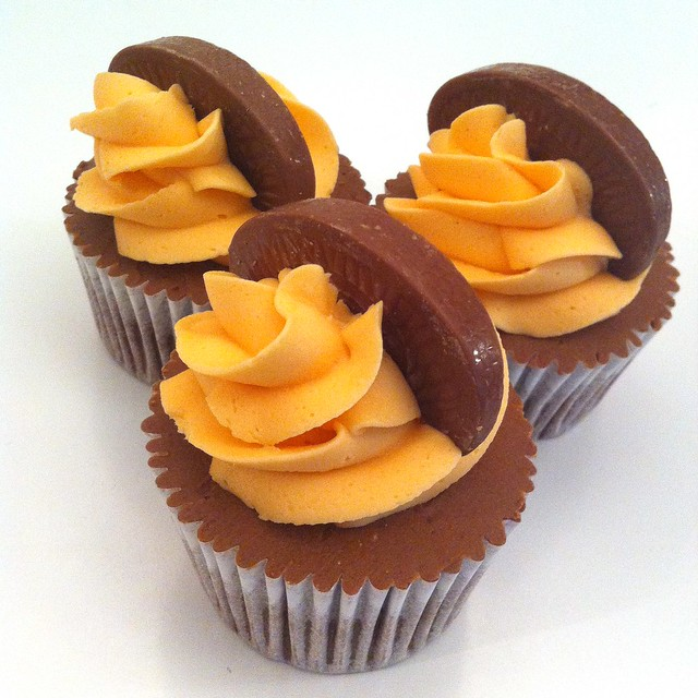 Chocolate Orange flavoured cupcakes from the signature range | Flickr ...