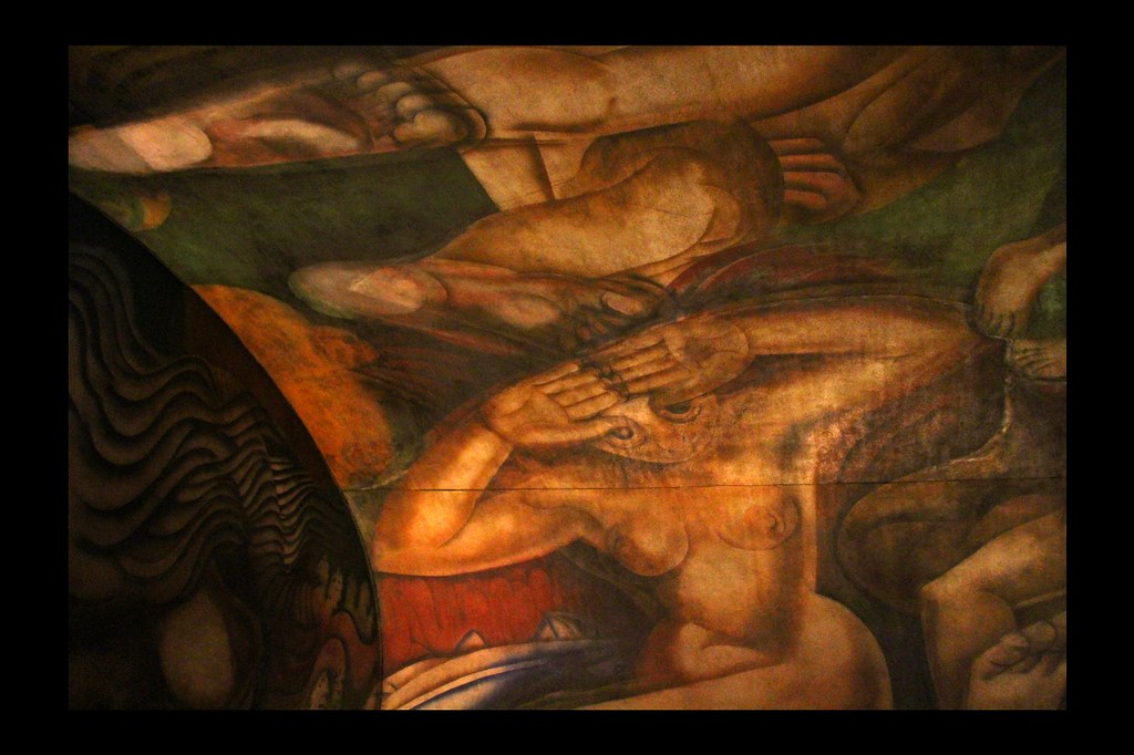 El mural de siqueiros argentina invitado por victoria for El mural de siqueiros