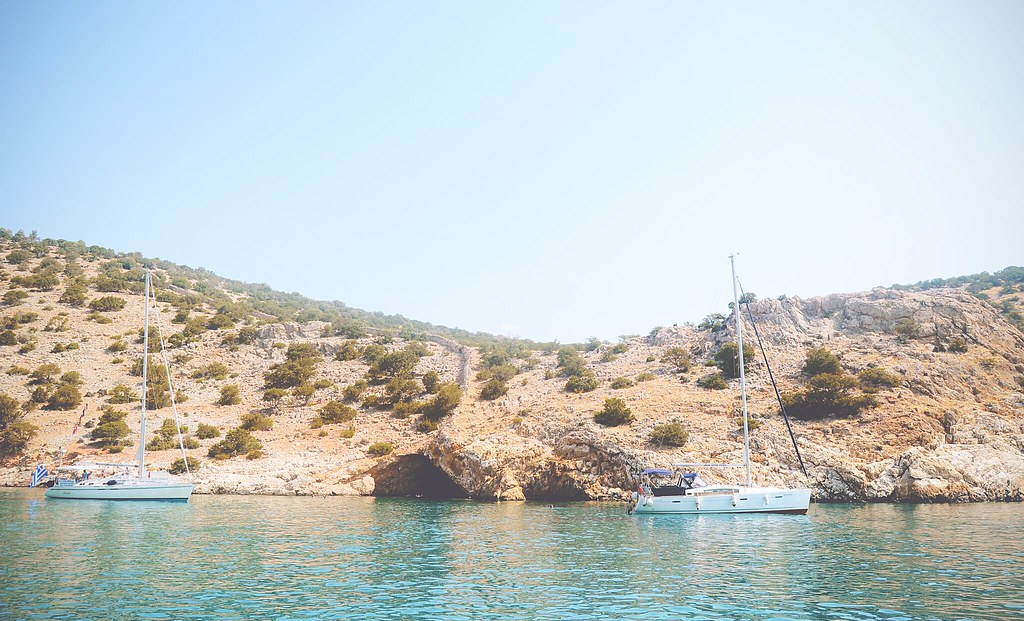 Sailing around Naxos (Greece) | via It's Travel O'Clock