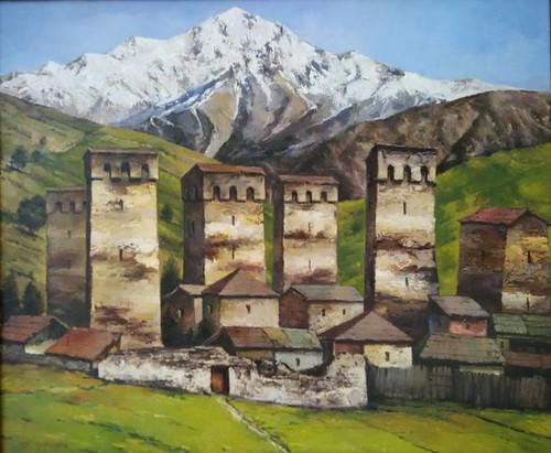 Pintura de Svaneti (Georgia)