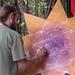 David Heskin painting at Beloved 2011