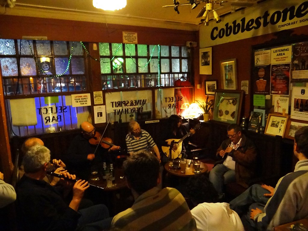 cobblestone pub dublin monday night session in cobbleston flickr. Black Bedroom Furniture Sets. Home Design Ideas