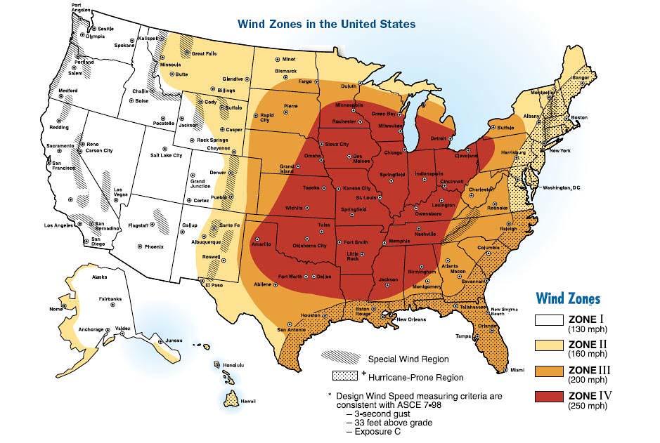 North Carolina Natural Disaster Map