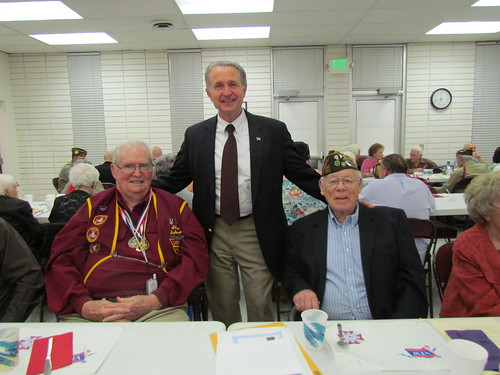 Congressman Herger presenting Jubilee of Liberty Medals to local veterans | by repwallyherger