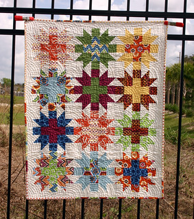Star Crossed Stitch quilt - washed full shot | by Don't Call Me Betsy