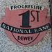 Progressive 1st National Bank of Dewey Entranceway