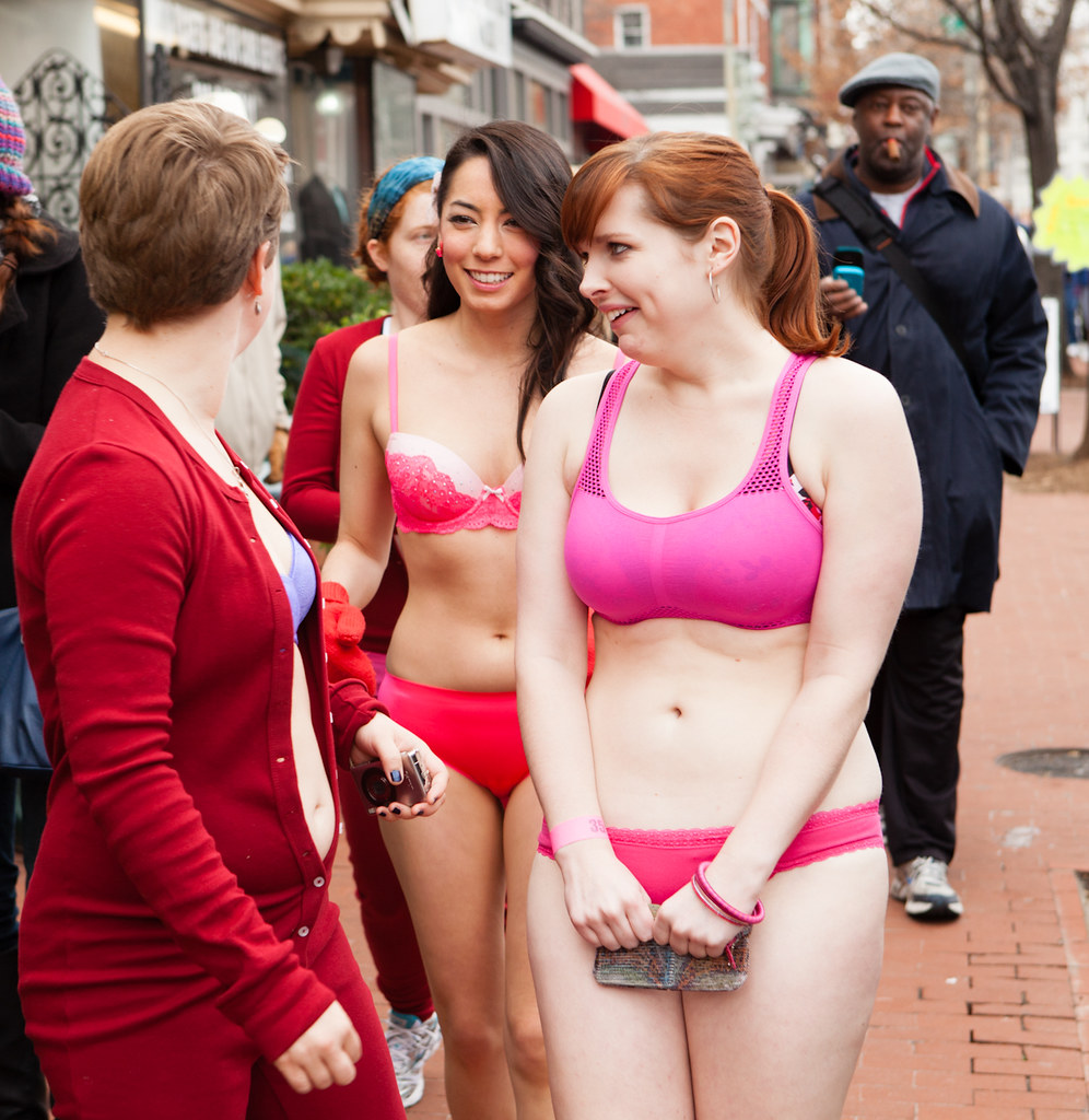 2012 Dc Cupids Undie Run For Charity I Just Like The Guy