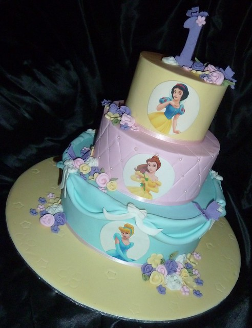 Disney princess Sophias FIRST birthday cake!  Flickr - Photo Sharing ...