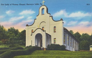 Our Lady of Victory Chapel - Harveys Lake, Pennsylvania | by The Cardboard America Archives