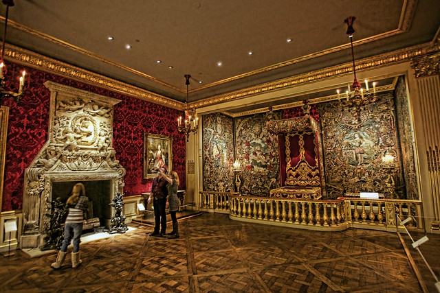 State Bedroom in the Style of Louis XIV. | Flickr - Photo ...