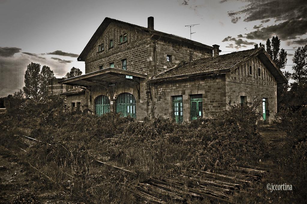 sala 7 burgos el ferrocarril abandonado estaci n de salas de los infant
