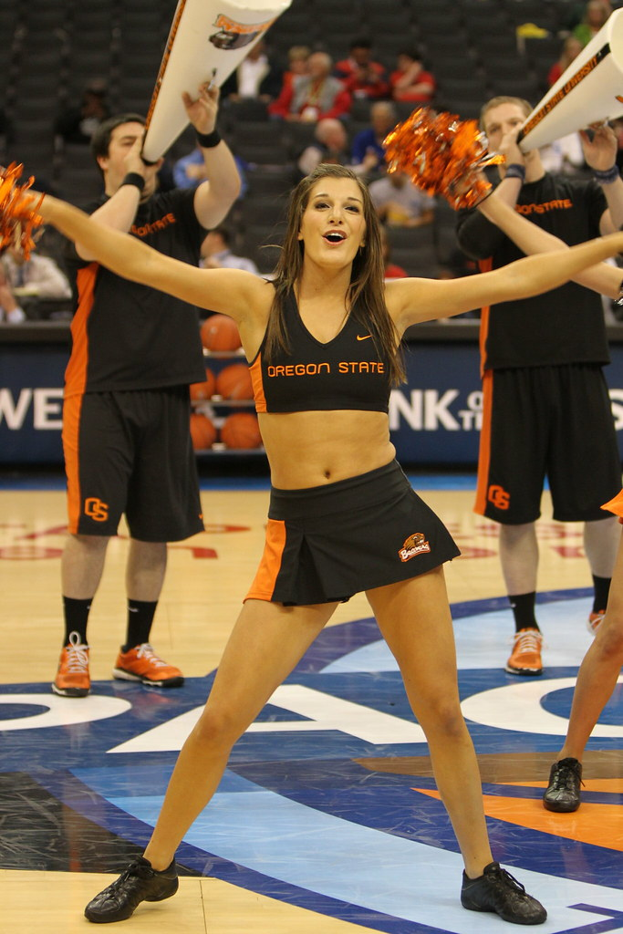 Apologise, but Oregon state university cheerleaders completely agree