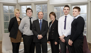 Caroline Spelman meets apprentices at Bournville | by Department for Environment, Food & Rural Affairs