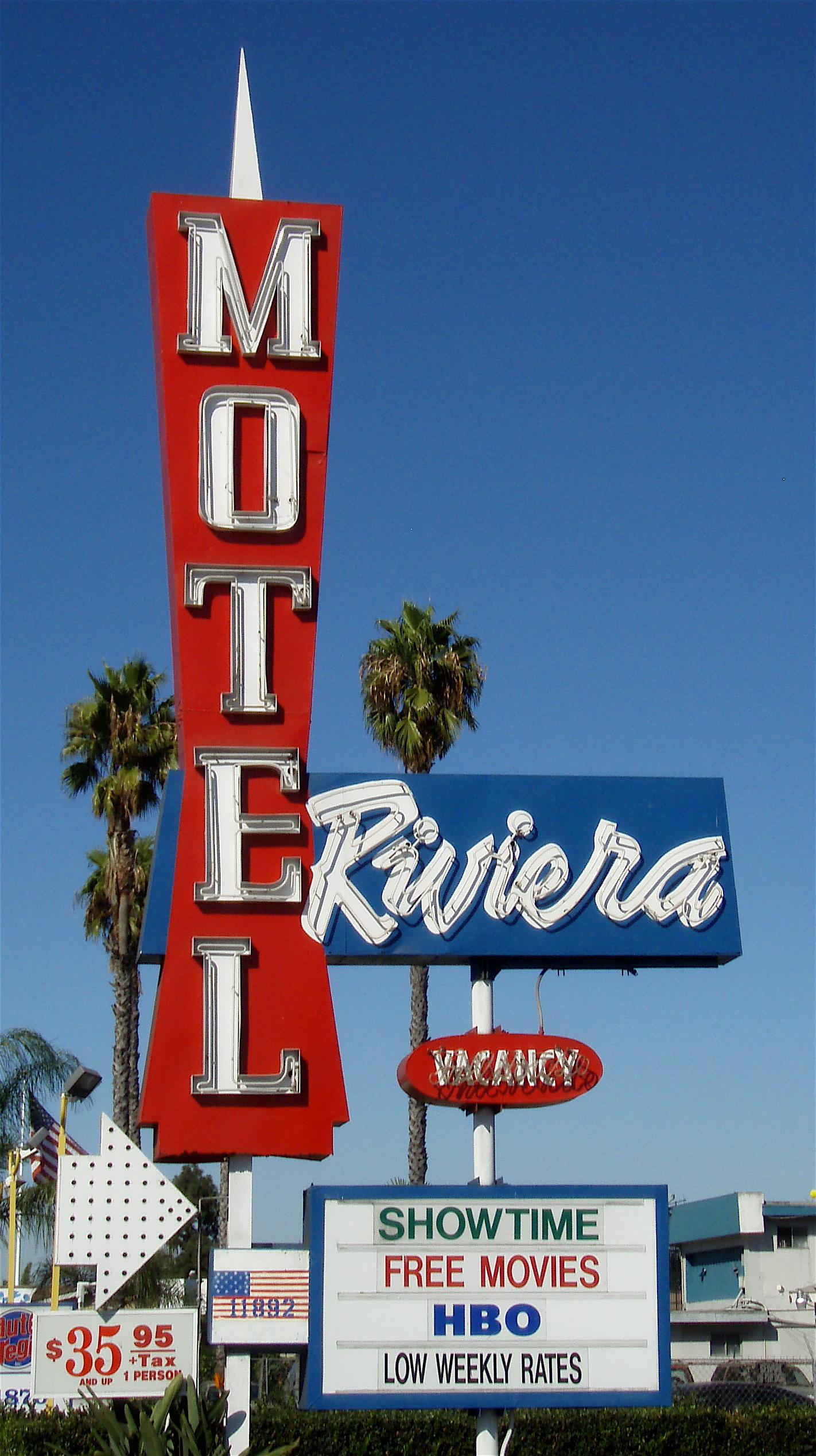 Riviera Motel - 11892 Beach Boulevard, Stanton, California U.S.A. - October 24, 2008
