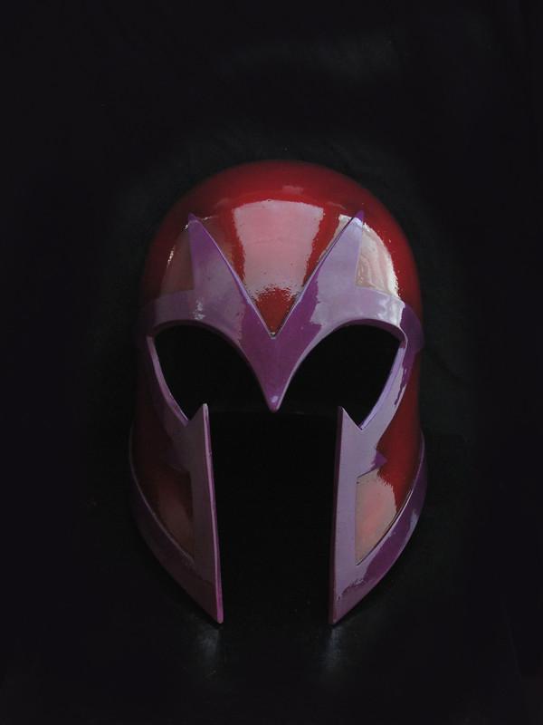X-Men First Class - Magneto Helmet | End Game version ... Horns
