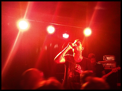 The Twilight Sad, April 25th 2012, Zürich | by @ARRGch
