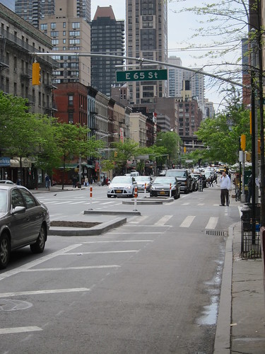 NYC_Bike Lane_1st Ave -3 | by TNoble2008