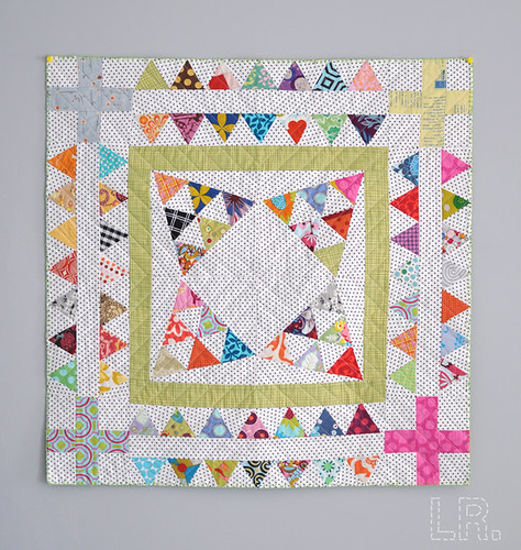 Triangle Mini Finished! | by LRstitched
