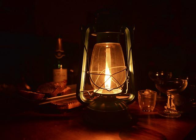Luz de velas en Aventura Polar en el Sur
