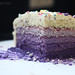 Purple Ombre Cake- 1