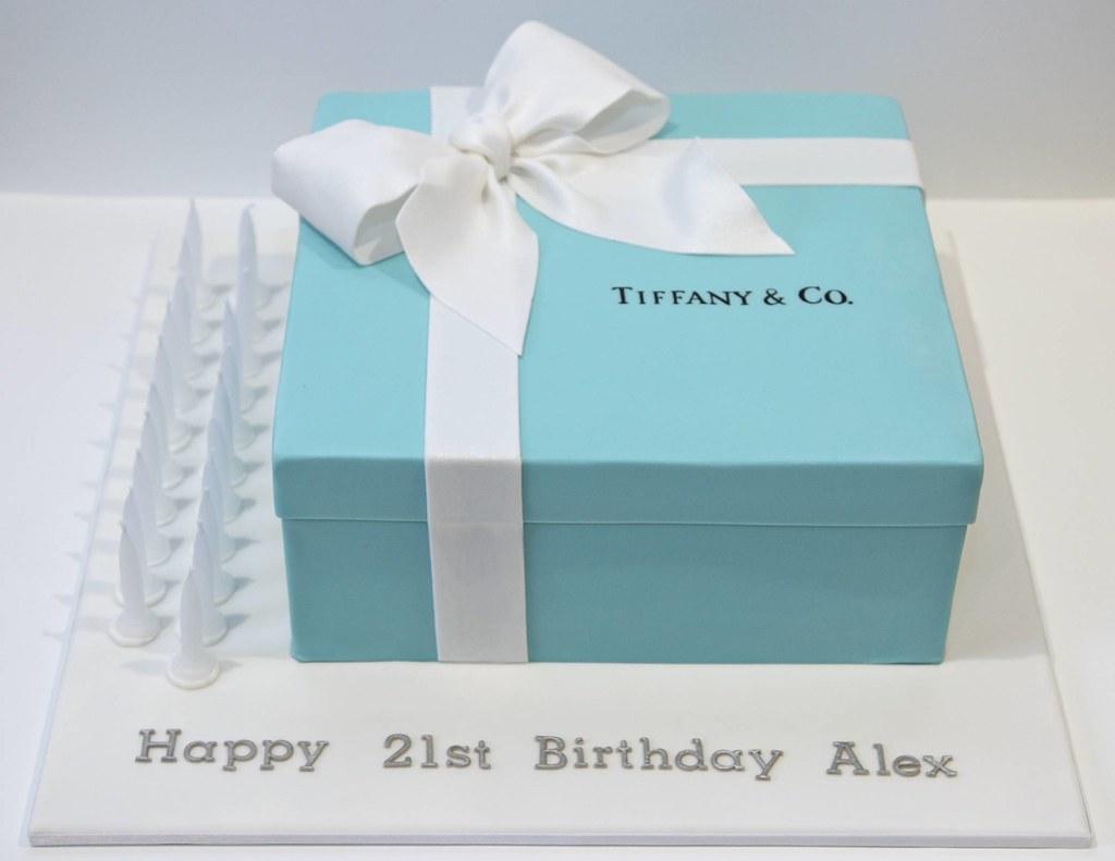Gift Bag Cake Design