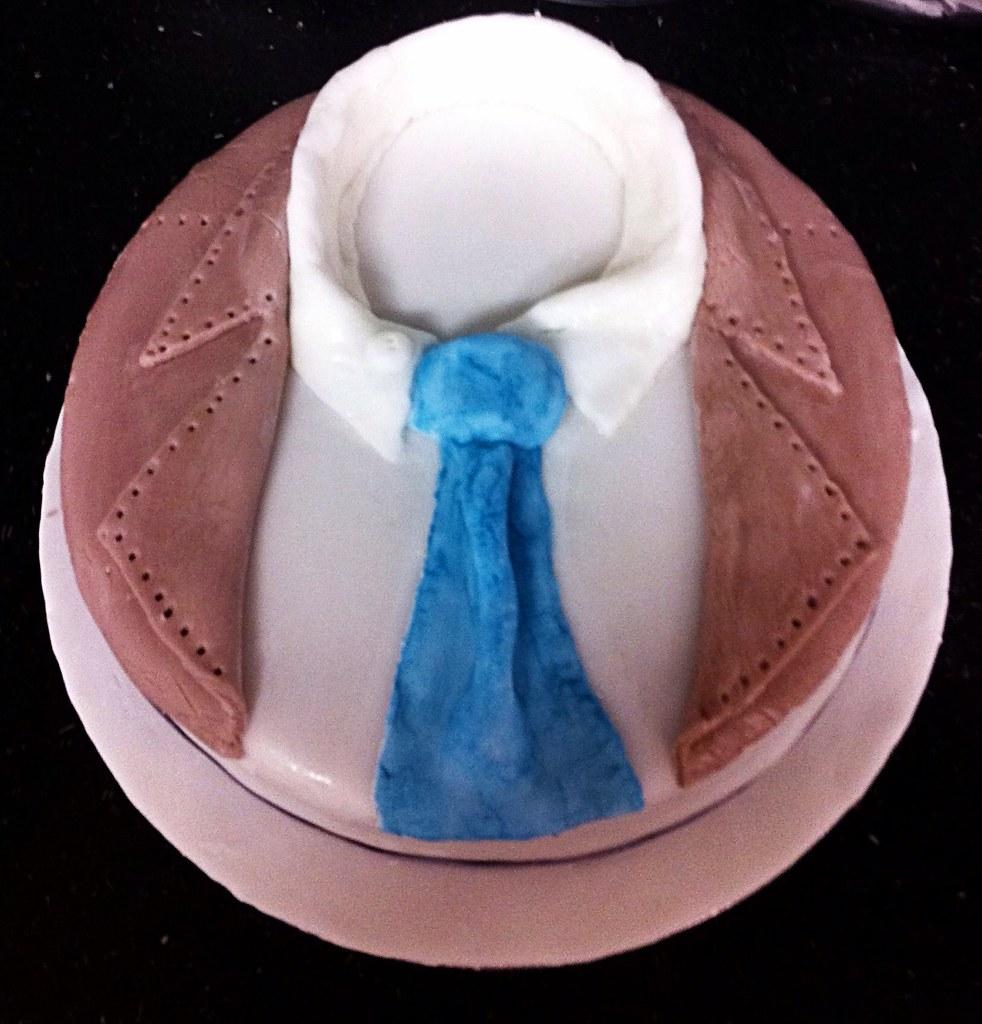 Supernatural Themed Birthday Cake