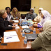 UN Women Executive Director Michelle Bachelet meets with Amira Elfadil Mohamed, Minister for Social Welfare of Sudan