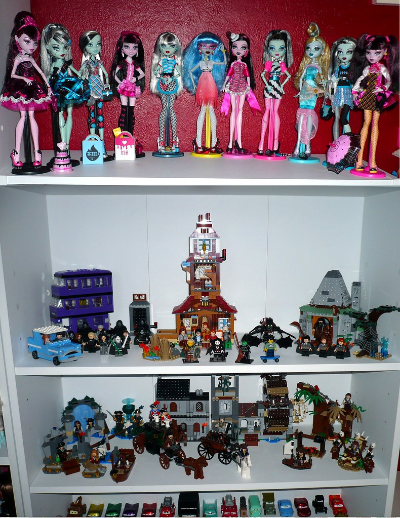Lego And Monster High And Cars My Other Monster High Dolls Flickr