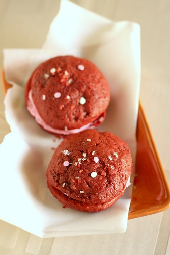 Red Velvet Whoopie Pies | by niftyfoodie
