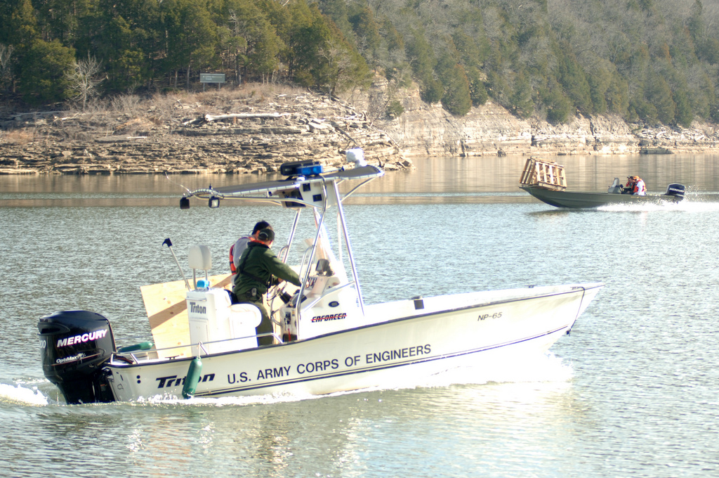 Usace boats on center hill lake tennessee u s army for Center hill lake fishing report