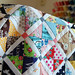 scrappy hour glass quilt