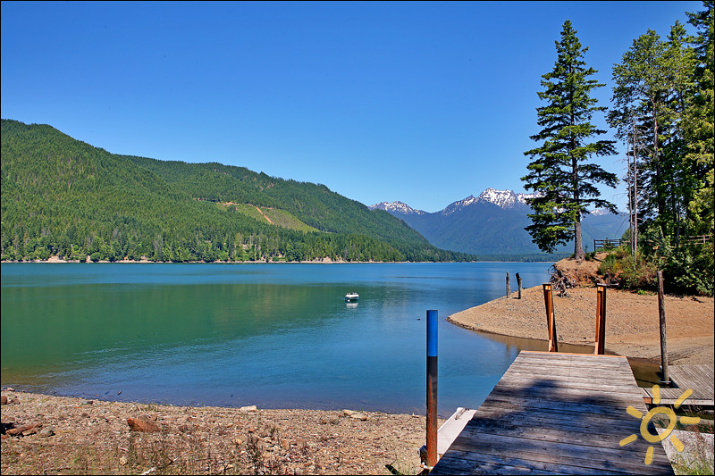 Quiet cove lake house vacation rental welcome to lake for Cabin rentals olympic national forest