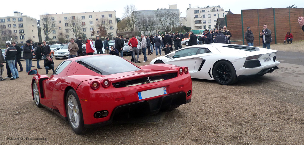 ferrari enzo or lamborghini aventador a man dream yes flickr. Cars Review. Best American Auto & Cars Review